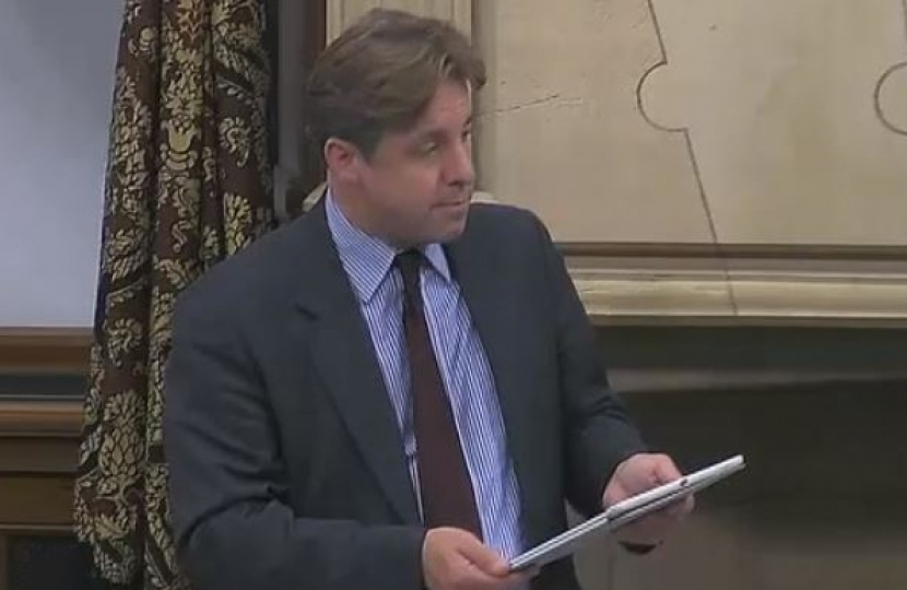 Marcus Fysh Defence and Security Review debate