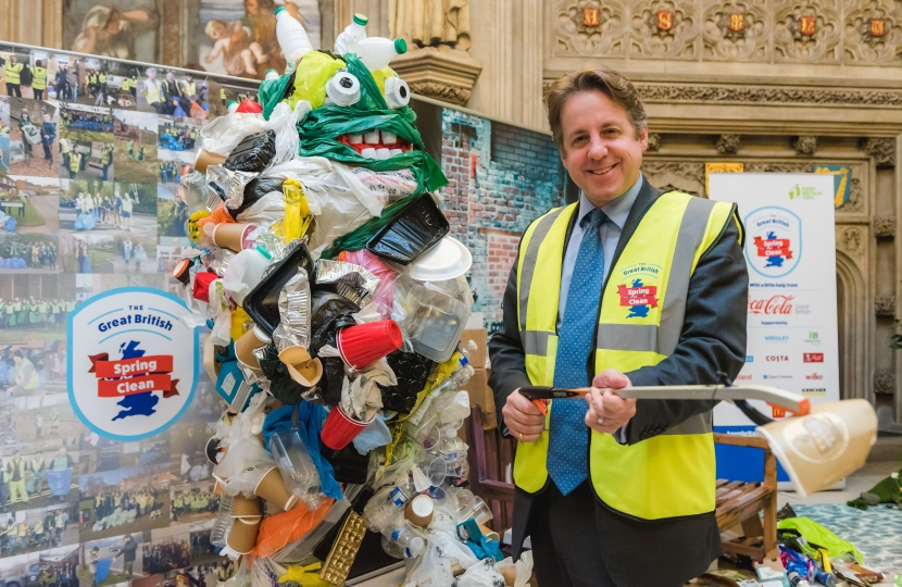Marcus Fysh The Great British Spring Clean